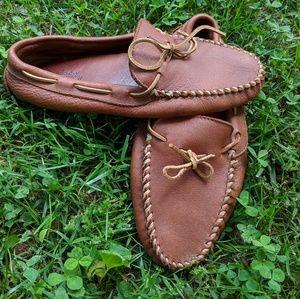 Minnetonka leather shoes